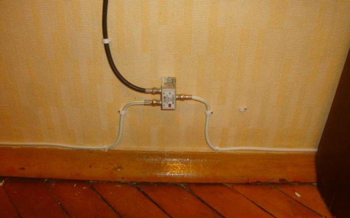 Прокладка антенного кабеля в